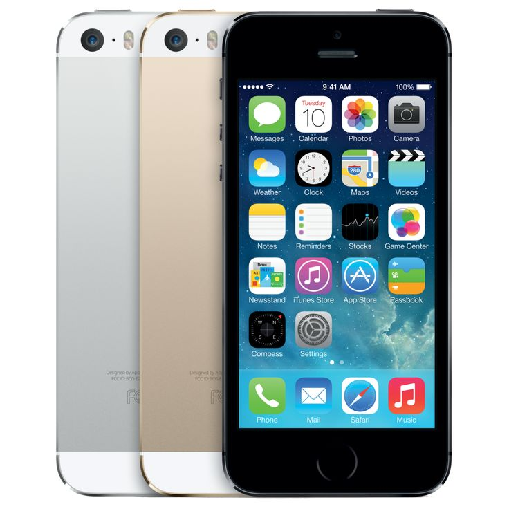 Apple Announced 'iPhone 5s' With Touch ID Fingerprint Scanner