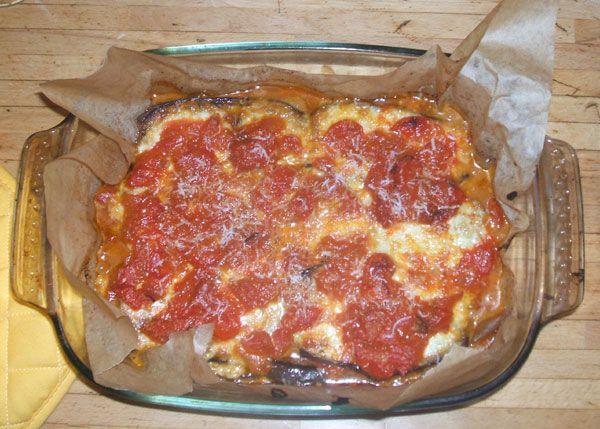Parmigiana - Aubergine-lasagna