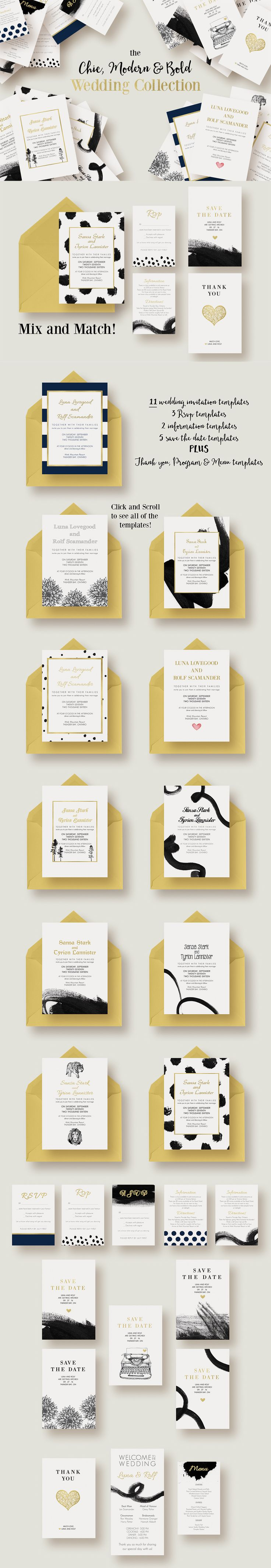 the 8 best invitation templates images on pinterest wedding