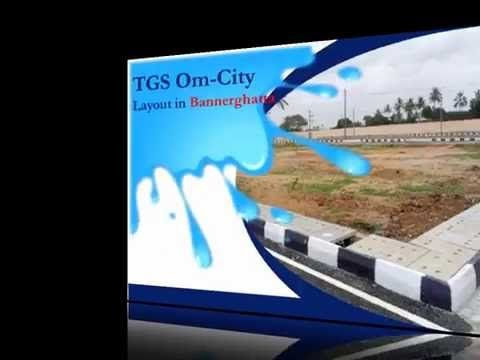 Check the preview of TGS OM city developed by TGS Layouts in Bannerghatta Road.