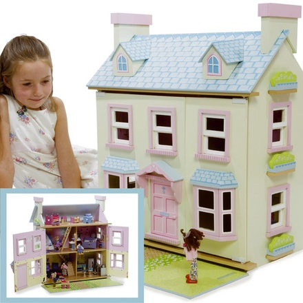 21 Best Images About Wooden Doll Houses On Pinterest