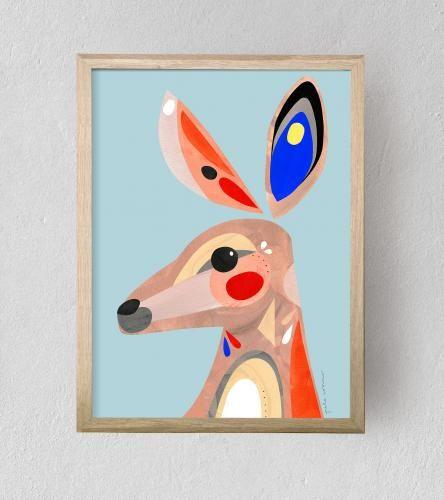 Kangaroo | Fine Art Print | Unframed