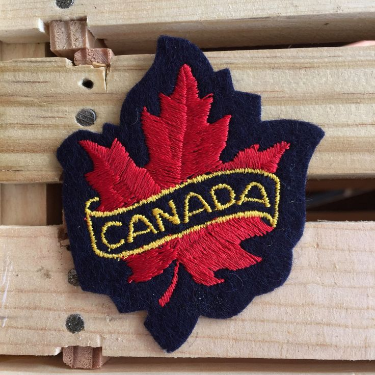 Canada Vintage Travel Souvenir Patch by Voyager - New in Original Package by HeydayRoadTrip on Etsy https://www.etsy.com/ca/listing/269274142/canada-vintage-travel-souvenir-patch-by