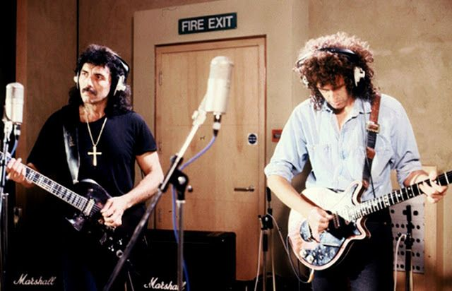 Queen Forever Blog: Tony Iommi torna a parlare di un album con Brian M...