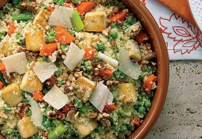 Recette Couscous au tofu et aux légumes - Coup de Pouce