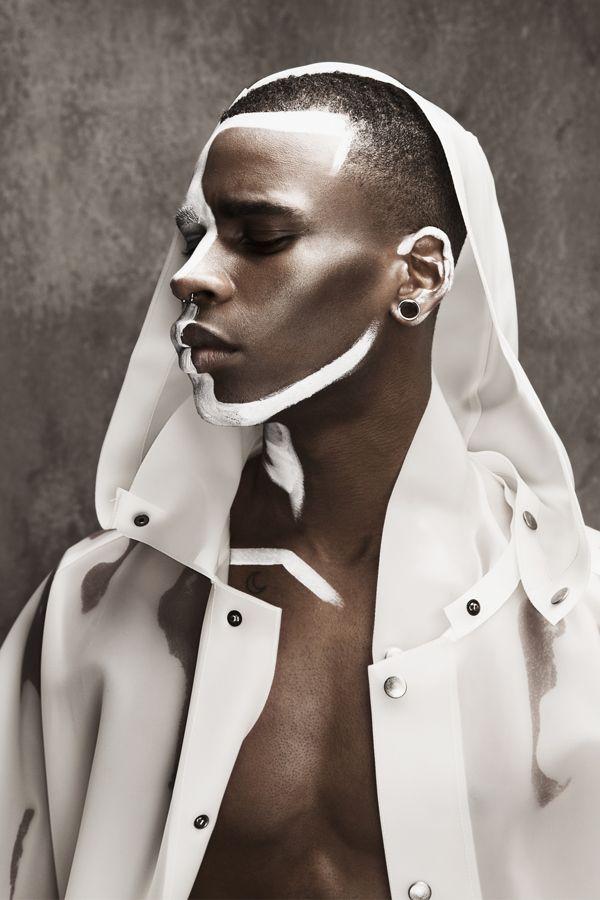 Stylenoir magazine by stephanie winger retouch via behance photographer quentin legallo model axel