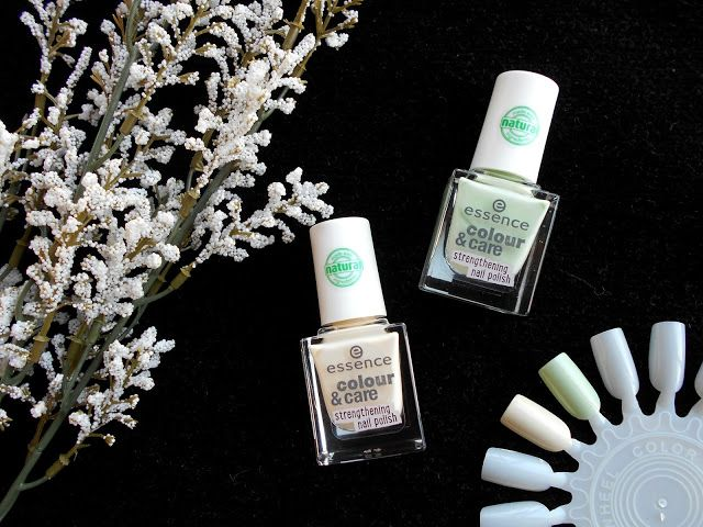 Gotta love these pastel nail polishes by Essence <3