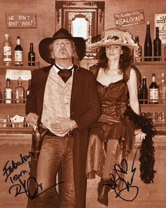 Robert Plant and Patty Griffin in Tombstone 2010 love this pic of him and patty