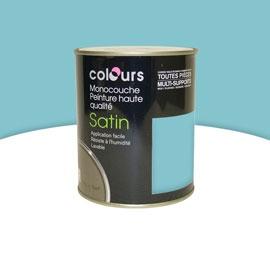 Peinture murale acrylique Piscine Satin 0.75L
