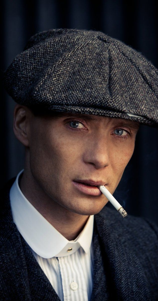 More Chiseled Cheekbones on BBC, Cillian Murphy in Peaky Blinders (2013).  Tom Hardy slated to join cast in Season 2.