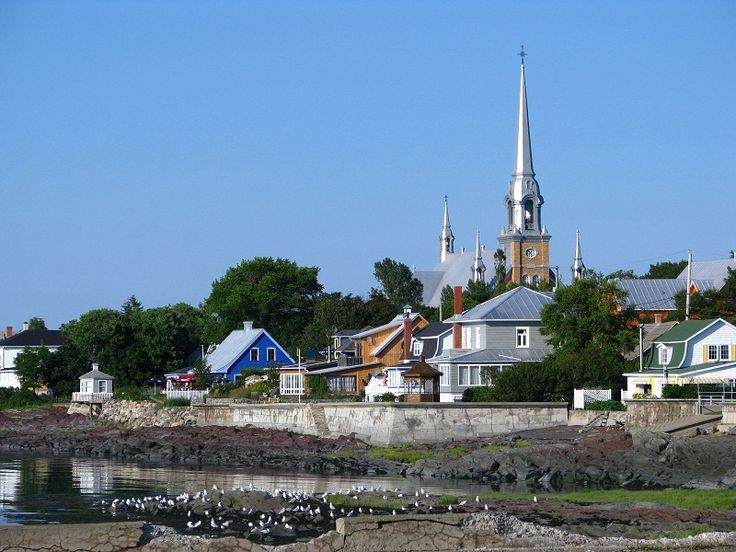Village typique - Kamouraska, Quebec