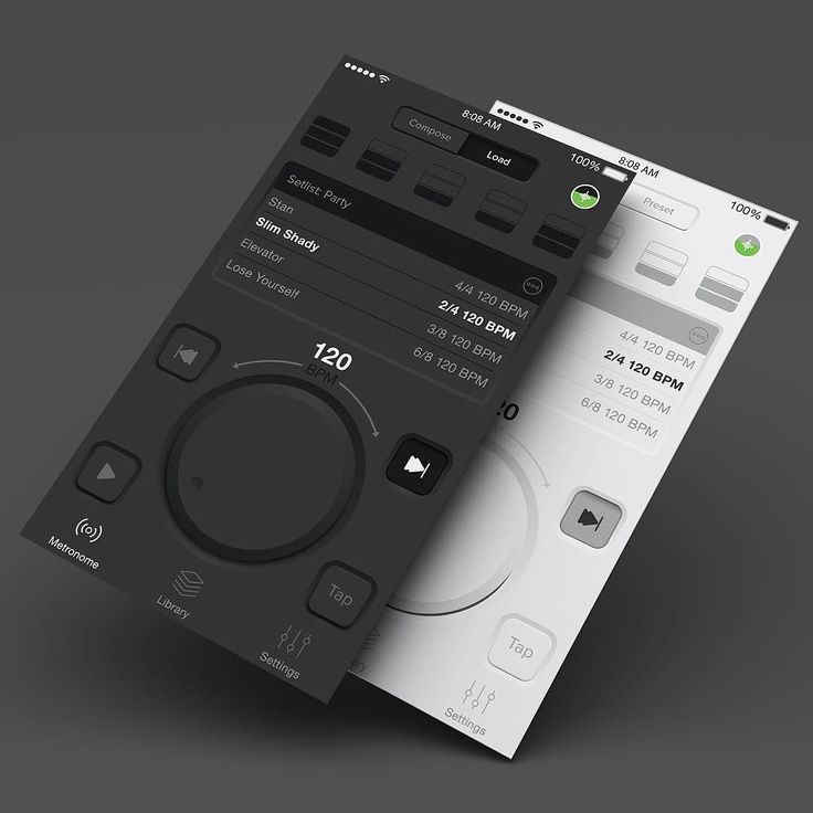 Working on an awesome project!! #uidesign #ui #musicapp #visualdesign #artdirection #metronome #ios #iosapp #iphone #iphoneapp #ux #uxdesign #dribbble #behance #branddesign #skeumorphism #design #designer #userinterface #ipad #instadaily # by http://ift.tt/1kGdW1g