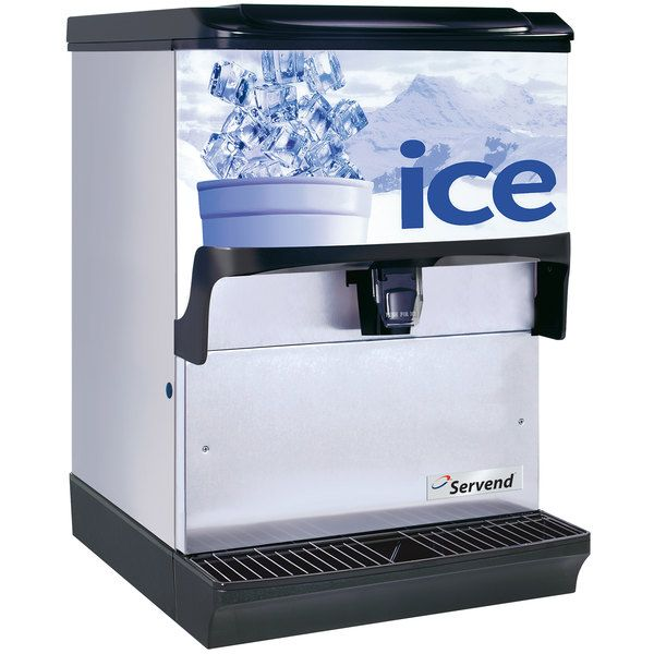 Servend 2705519 S150 Countertop Ice Dispenser In 2020 Hotel Supplies Countertops Counter Space
