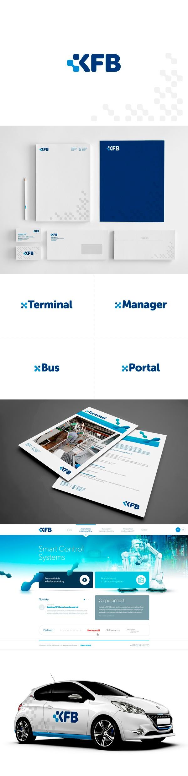 corporate ID / KFB | #stationary #corporate #design #corporatedesign #logo #identity #branding #marketing <<< repinned by an #advertising agency from #Hamburg / #Germany - www.BlickeDeeler.de | Follow us on www.facebook.com/BlickeDeeler