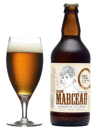 Maple syrup beer from Brasserie Ile d'Orléans.