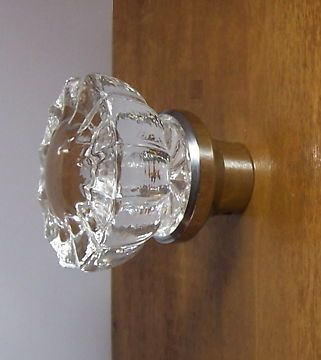Oversize Cabinet Pulls In Fluted Crystal Single Knob For BiFold Doors More KnobDining RoomCabinets