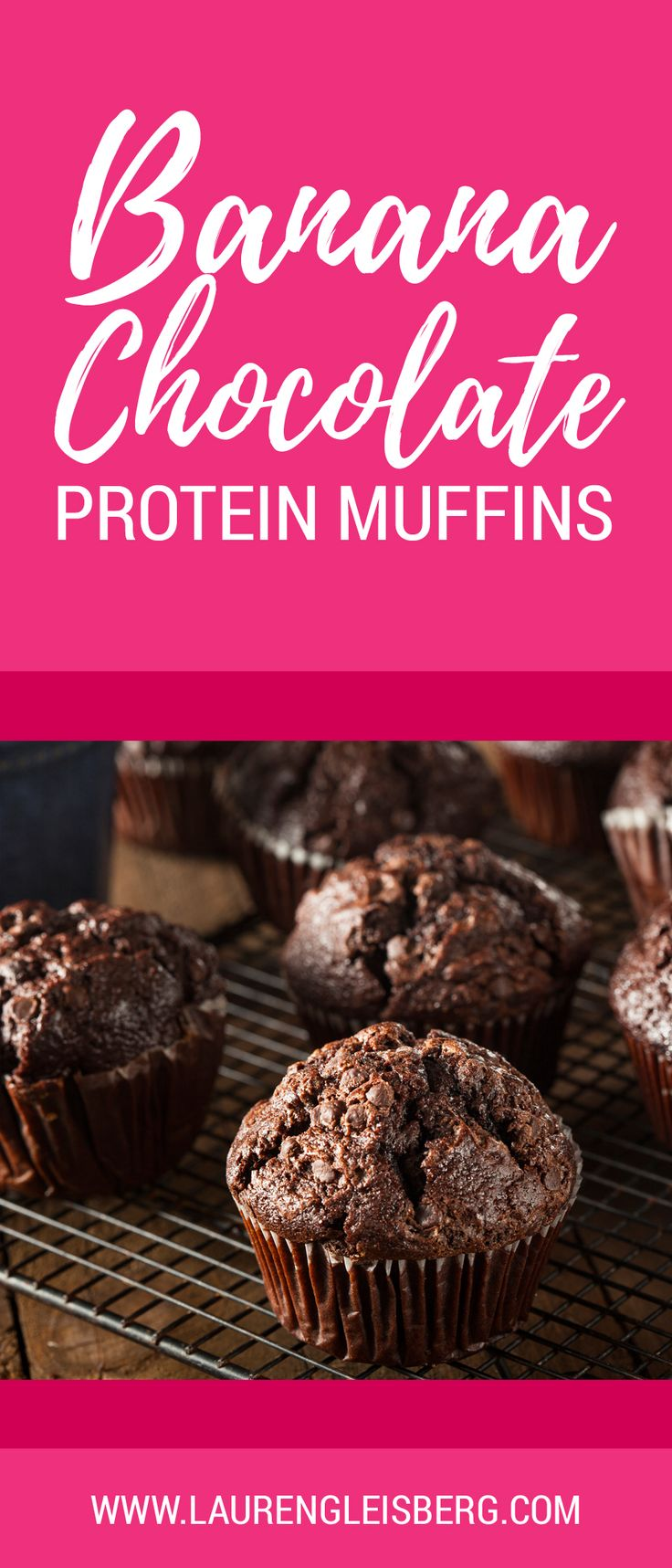 CHOCOLATE PROTEIN MUFFINS RECIPE – Lauren Gleisberg                                                                                                                                                                                 More
