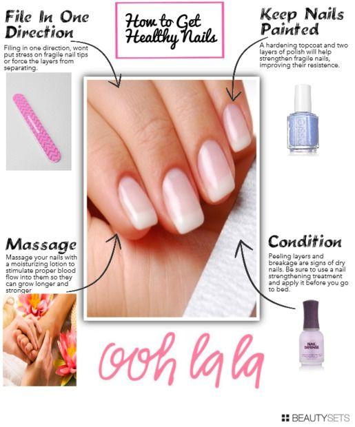 Beautysets - Tips on How to get healthy nails | Beauty guru: Sarah ...
