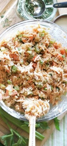 Great easy lunch idea! Make it over the weekend and eat it all week long! Easy Buffalo Ranch Chicken Salad. This simple recipe is so delicious! It is packed with flavors and you can make it as spicy as you want. As a bonus, it is Paleo, Whole30 Compliant, gluten free, dairy free, and just plain tasty whether you are following a special diet or not.