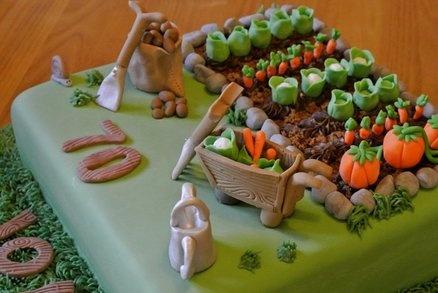 gardening cake  Cake by SOH
