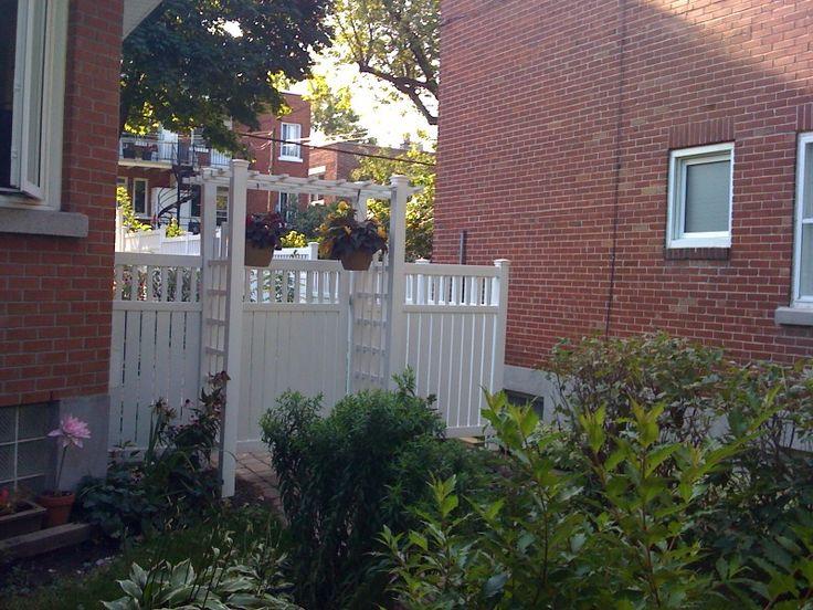 Clôtures en PVC - Résidentiel - Produits - Inter Clôtures Sentinelle Ltée