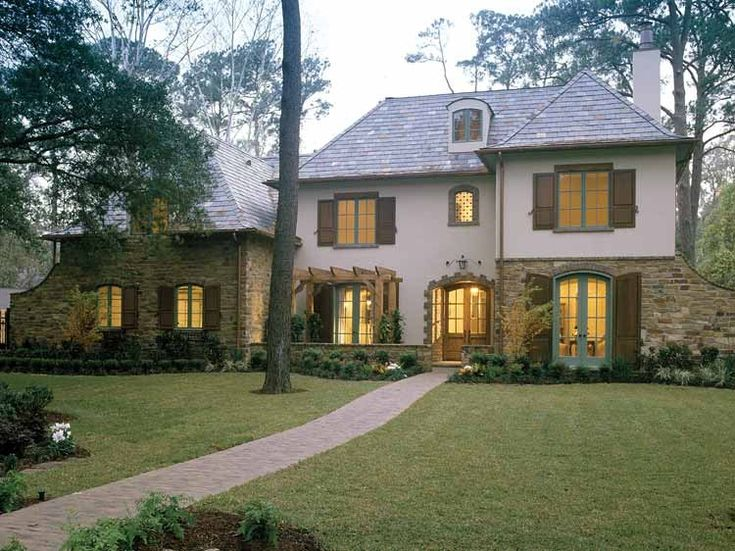 Eplans French Country House Plan Five Bedroom French Country  Square Feet And  Bedrooms