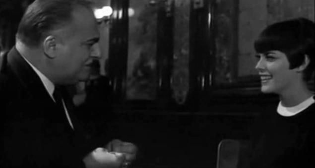 Mireille Mathieu et Bruno Coquatrix