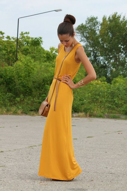 105 best 2dayslook - Yellow Maxi images on Pinterest ... - photo#49