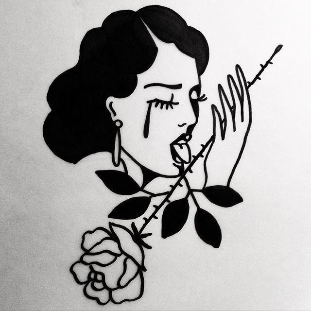 By tattoo artist Johnny Gloom
