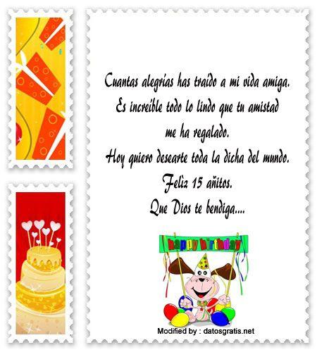 palabras para saludar a quinceañera,saludos para quinceañera para facebook:  http://www.datosgratis.net/hermosos-discursos-para-quinceaneras/