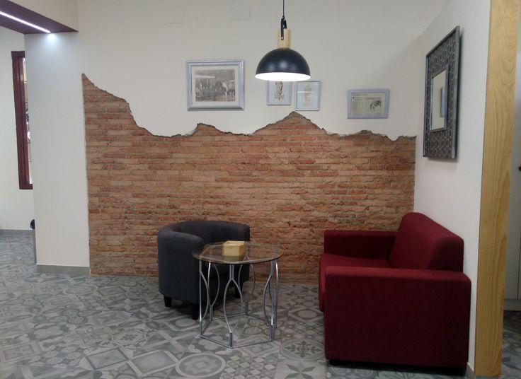 25 best ideas about fake brick walls on pinterest fake - Fake brick wall decoration ...