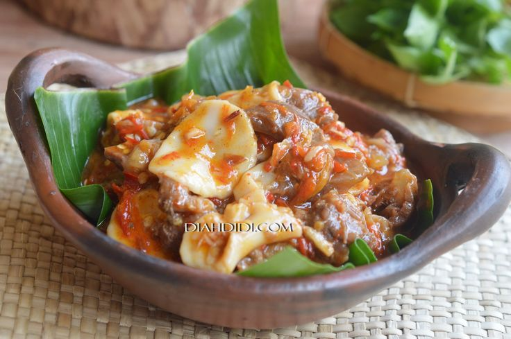 Diah Didi's Kitchen: Seblak Daging..atau Oseng Mercon..?