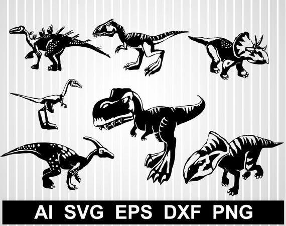 Dinosaur svg files for cricut T-rex svg free Dinosaur ...