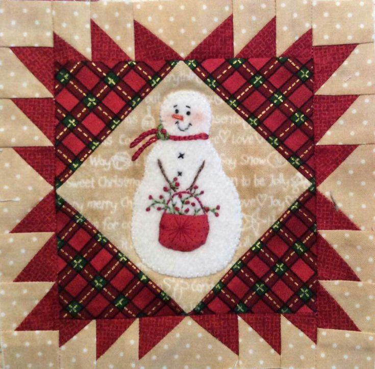 Snowman block 2