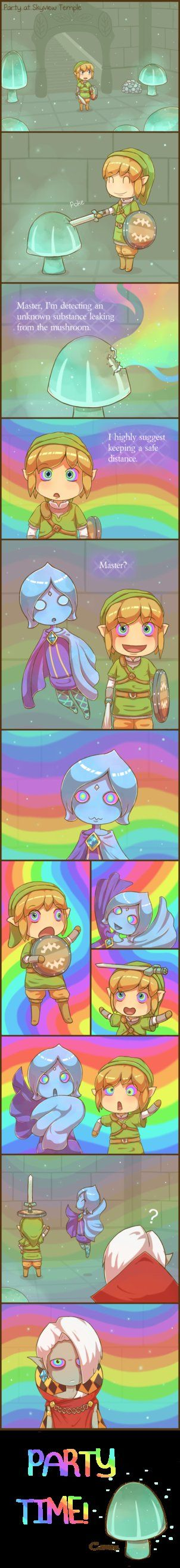 So, this is silly. Just what kinds of crazy they'll be up to in the end, who knows. I'm sure Ghirahim knows how to party though. I'll leave that to your imagination I think. More Zelda art Zelda &#...