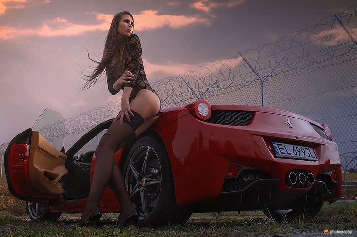 Ferrari 458 Italia & Nina by Jarek S on 500px