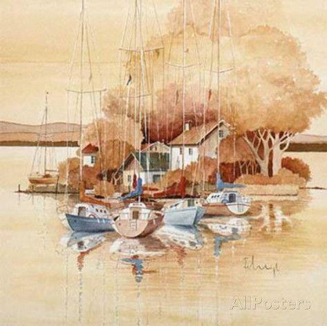Seaside I Prints by Franz Heigl - AllPosters.co.uk