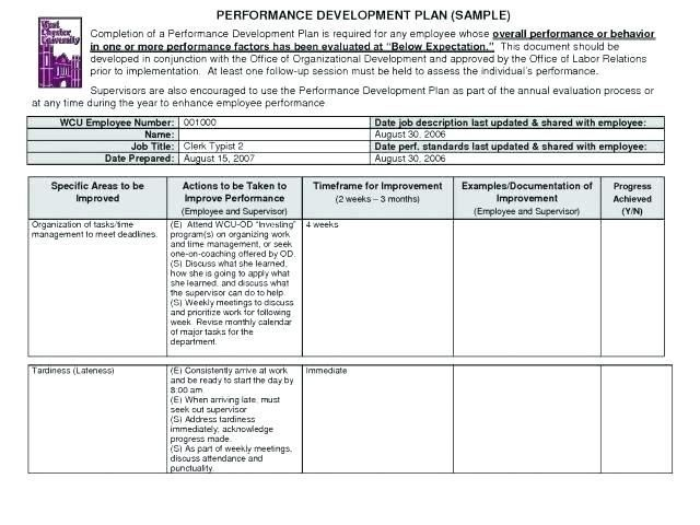 23 Employee Training Record Template Excel Business Plan