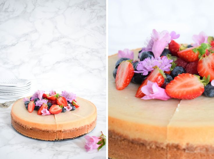 vegan baked cheesecake