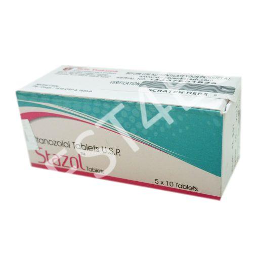 Buy Stazol 10 (Stanozolol) 10mg/tab. (50 tab.) SHREE VENKATESH