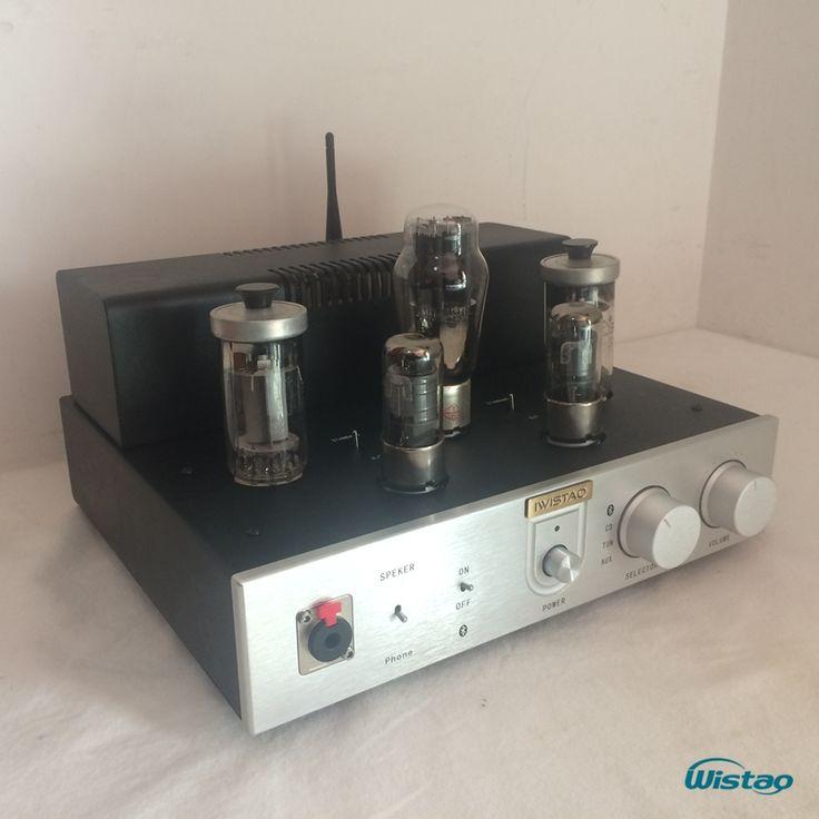 299.00$  Watch here  - Bluetooth 4.0  Tube Amplifier FU50 Power Stage Class A Signal-ended Headphone Amp HIFI Audio 2x12W HIFI Audio
