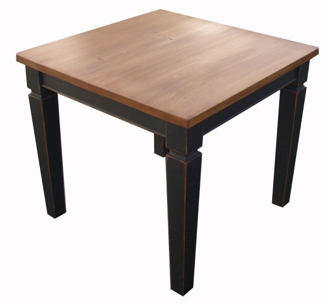 Wide dining room table
