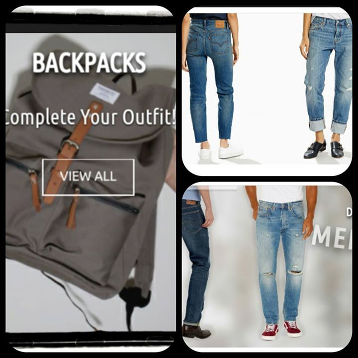 #DenimLounge Sandqvist backpacks, Levis Wedgie #jeans and 501 CT. #Streetwear for the #UrbanSlackers generation. Online shop located in Ioannina, Greece. Shipping to Europe.