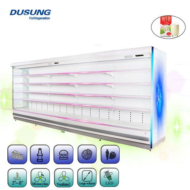 Real Dual Air Curtain Energy Saving More Than 19 Layer Led