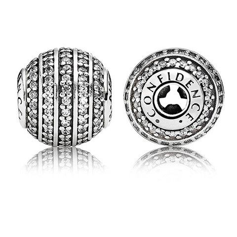 Authentic Pandora Jewelry - PANDORA ESSENCE-CONFIDENCE (Needs ESSENCE Bracelet)