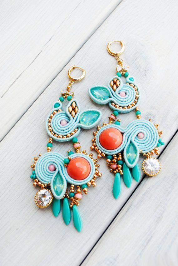 Boucles doreilles boucles doreilles perles boucles par ByMimmiShop                                                                                                                                                                                 Plus