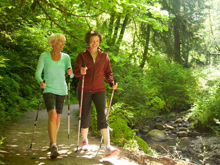 walking workout: try nordic walking http://www.prevention.com/fitness/fitness-tips/14-walking-workouts-burn-fat-and-boost-energy/walking-workout-double-duty-toner