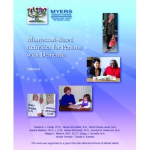 Montessori-Based Activities for Persons with Dementia, Vol 2: Amazon.co.uk: Cameron J. Camp: Books