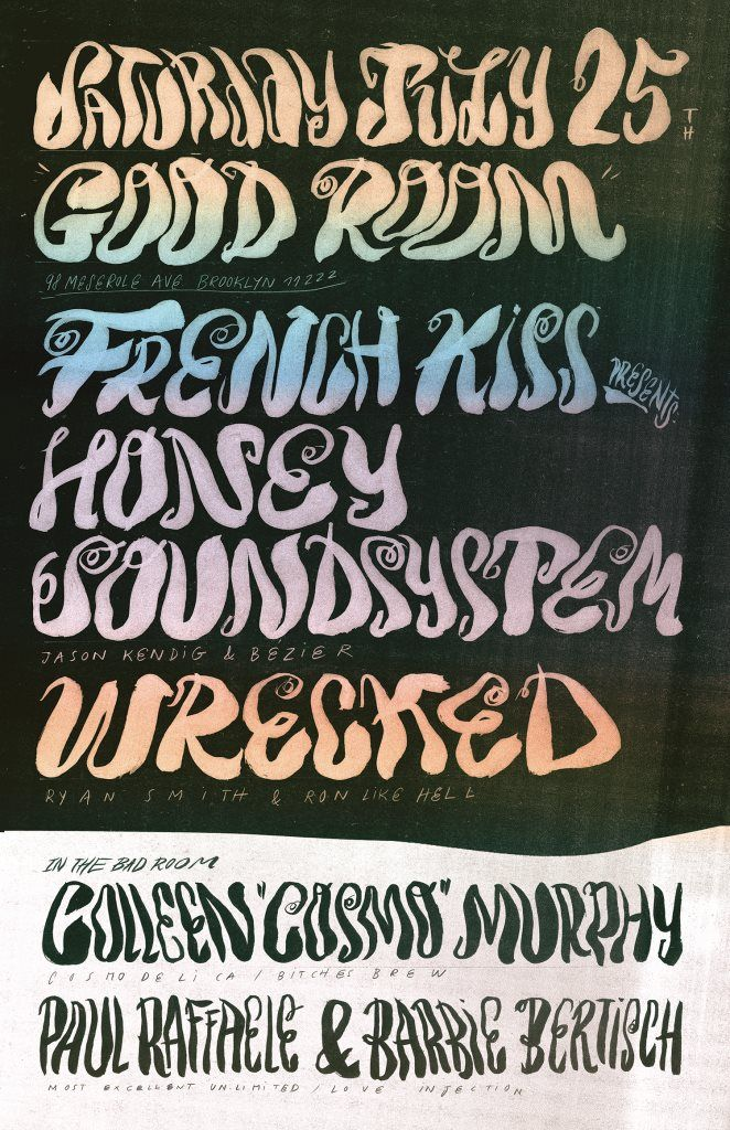 RA: French Kiss presents Honey Soundsystem's Jason Kendig and Bézier with Wrecked & Colleen Murphy at Good Room, New York