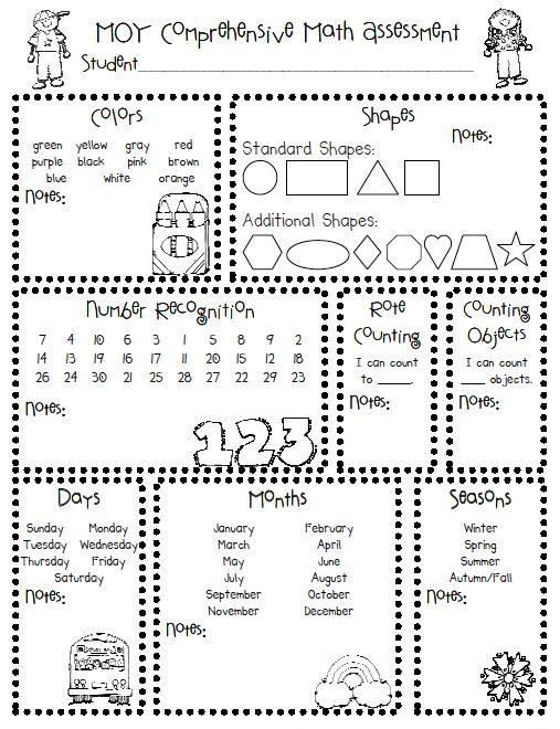 14 Kindergarten Readiness Activities and Printables